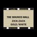 Sunbounce BOUNCE-WALL pannello riflettente A4 zig zag oro/bianco – retro bianco